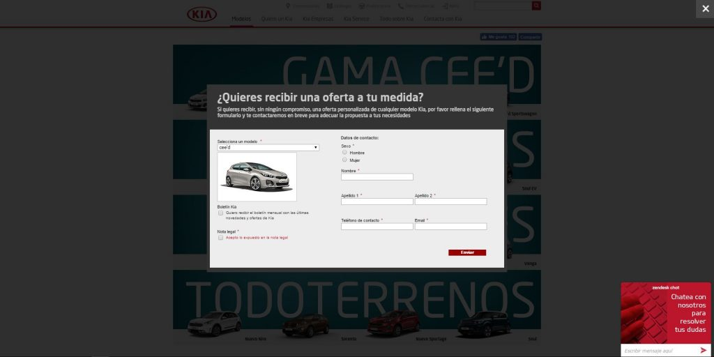 Sophus3 Active Engagement for Kia Spain
