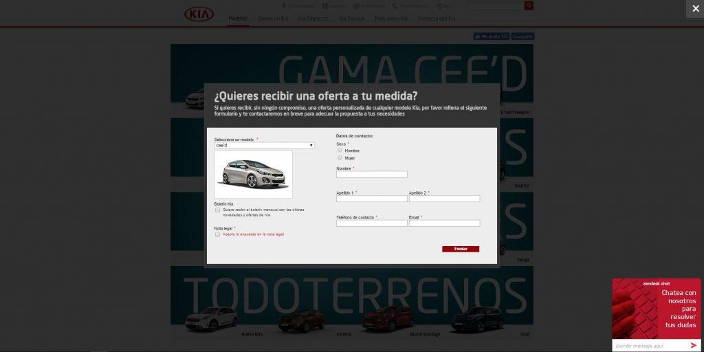 Sophus3 Active Engagement for Kia Spain
