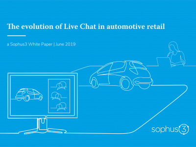 Evolution of Live Chat White Paper Cover