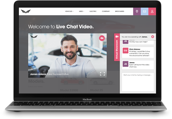 Live Chat Video